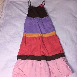 Casual Multicolored Summer Dress